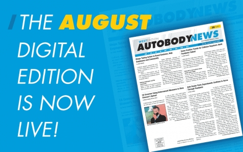 Available Now: August 2020 Digital Editions of Autobody News