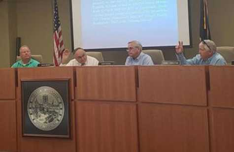 The Greenwood County Council voted 4-2 in favor of a request by Kendrick Williams to split zone his property on Old Mount Moriah Road.