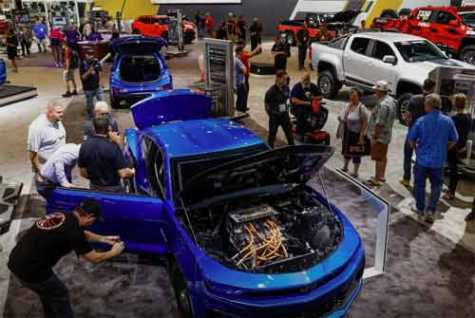 Chevy Could Struggle at SEMA Because of UAW Strike