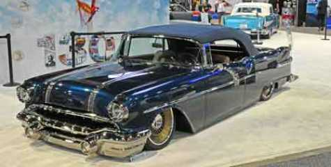 1956 Pontiac Star Chief Convertible by Customs by Kilkeary