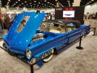 "Modern Classikk Kindig's ""Teal Later"" was used on a 1958 Lincoln Continental named ""Maybellene,"" which was showcased during the Los Angeles Classic Car Show in February."