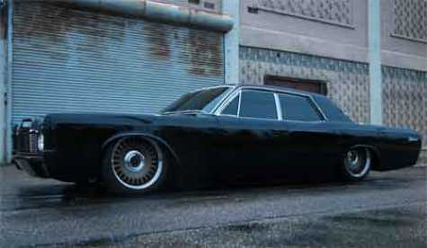 "Mobsteel's 1968 Lincoln Continental build, ""Hitter 5.0"""