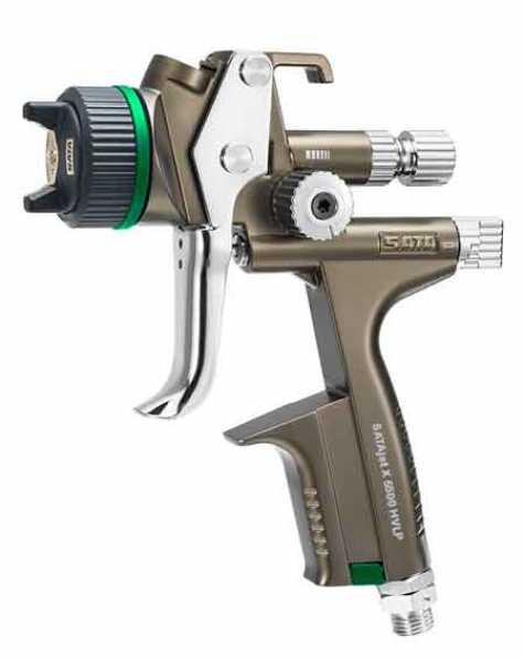 The SATAjet X 5500 featuring the new X-nozzle system.