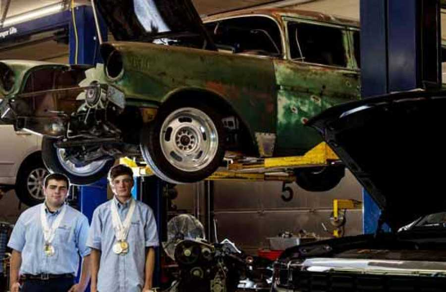 Buying A Car With Hail Damage >> Doherty High Students Win National Automotive Championships