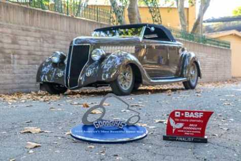 "George Poteet's ""Three Penny"" '36   Ford roadster, 2019 Goodguys BASF America's Most Beautiful Street Rod"