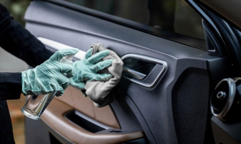 During the pandemic, many insurers are paying repair shops to disinfect and clean a vehicle for contamination before it is returned to the customer.