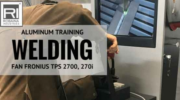 Aluminum MIG Welder Training Presented by Robaina Industries