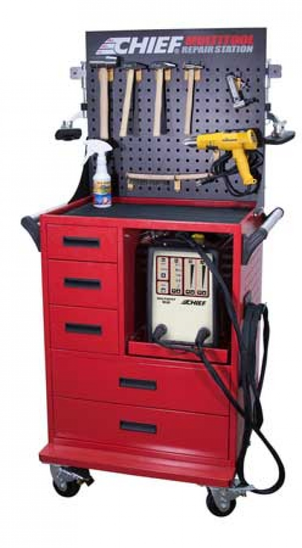 Chief® Improves MultiTool Aluminum Repair Station