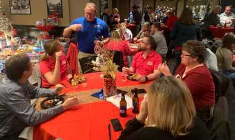 AASP-MO's Gateway Collision Chapter hosted its annual Christmas Party at Syberg's Restaurant in St. Louis.