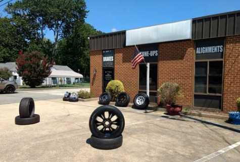 A Caliber Collision auto body repair shop was approved for the site where Mr. T Tire and Auto (pictured) currently operates.