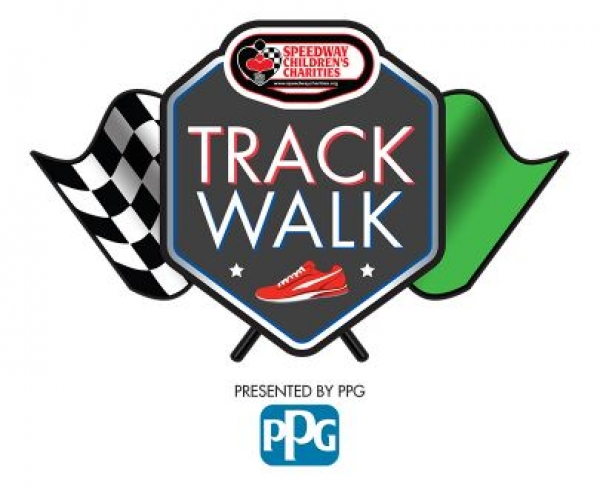 PPG Walks the Track with Speedway Children's Charities