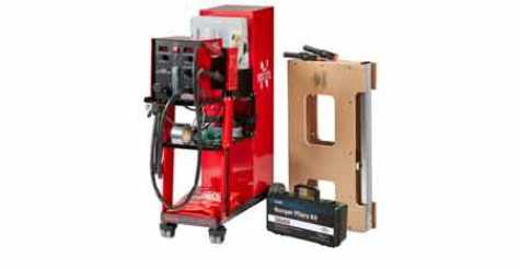 Polyvance has reduced the price on their 6085-C and 6080-CG nitrogen plastic welders.