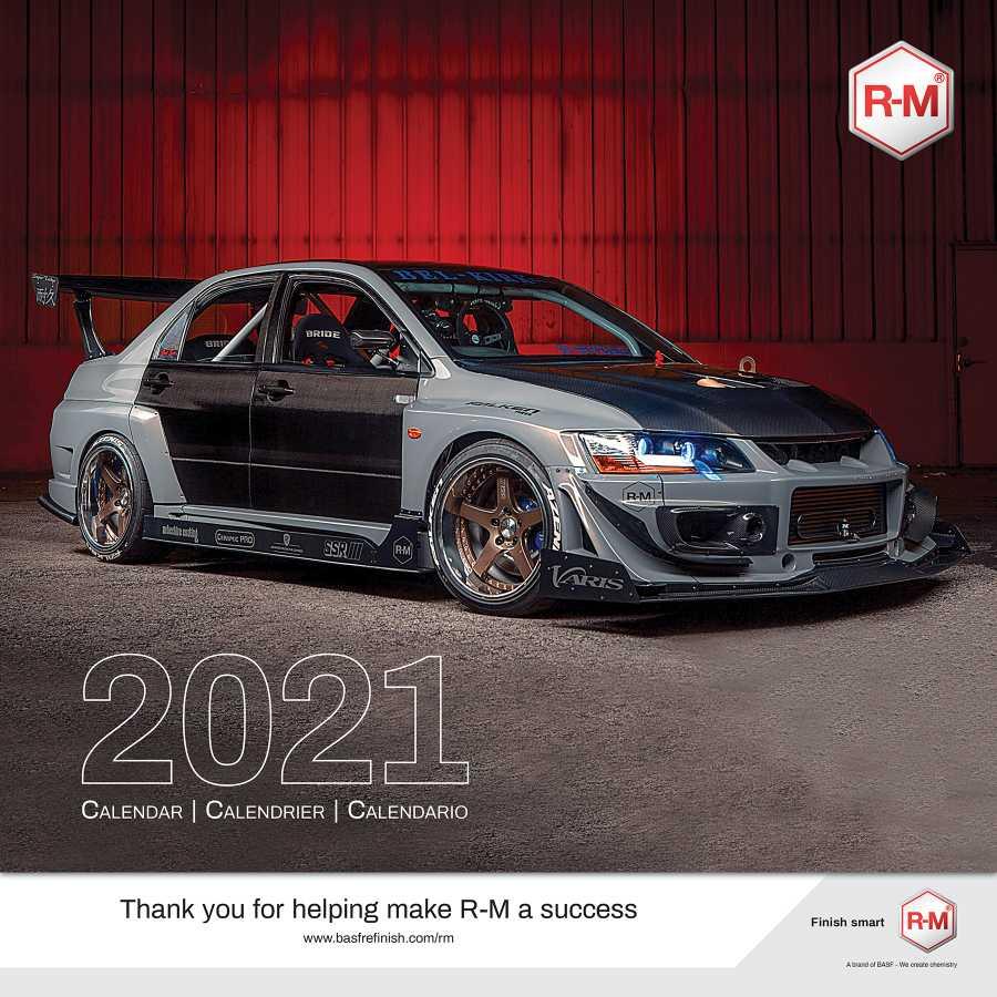 Showcase Your Vehicle in BASF's 2021 R M Calendar