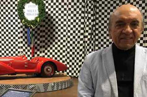 Dr. Fred Simeone discusses winning two of the most prestigious international awards for the Simone Foundation Car Collection.