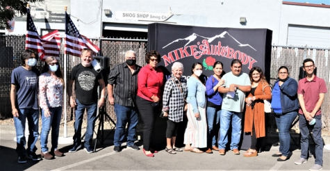 Mike's Auto Body gave away two vehicles in conjunction with the Hemophilia Foundation of Northern California.