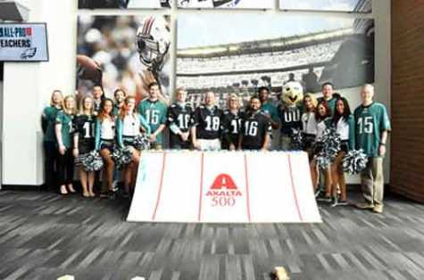 Axalta and the Philadelphia Eagles opened nominations for the 2019 Axalta All-Pro Teachers program with a celebratory event on Teacher Appreciation Day