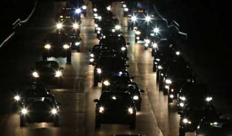 Some motorists are bothered by headlight glare from other vehicles.