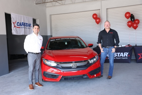 CARSTAR Ace Sullins, Esurance Donate Refurbished Vehicle to Deserving Miami Recipient