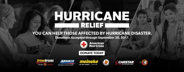 DBCF Partners with Driven Brands Companies to Raise Money for Hurricane Relief