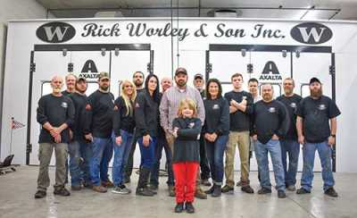 Led by Rick's son 7-year-old River, the future looks bright at Rick Worley & Son in Ringgold, GA.