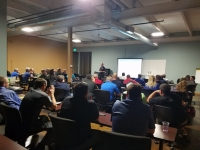 Both of Chesney's sessions enjoyed a great turnout of collision repair professionals eager to learn more about the industry's future.