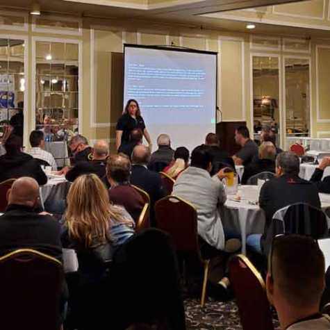 Kristen Felder of Collision Hub presented at AASPI's Annual Meeting.