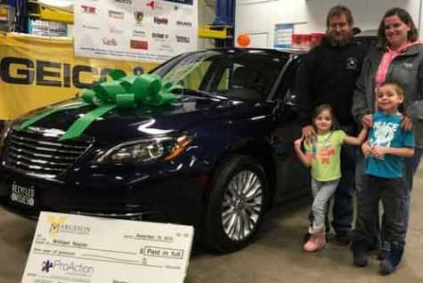 NY Family Receives a Car Through the NABC Recycled Rides Program