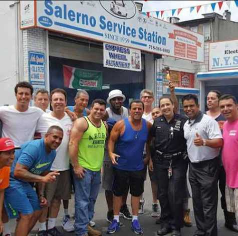 Many of Brooklyn's most colorful characters stop by Salerno's to share stories and hang out.