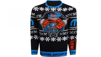 On The Lighter Side: Mopar Hemi Ugly Holiday Sweater Could Be The Best And Worst Gift