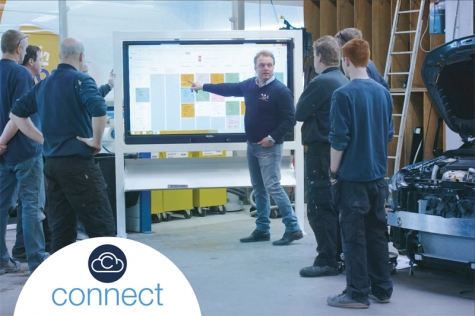 AkzoNobel Introduces Connect – The Smart Way to Harmonize Data in Collision Repair Businesses