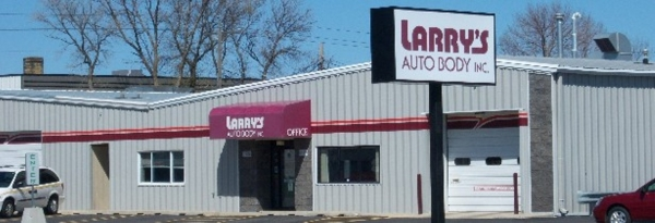 Larry's Auto Body, 128 16th St. N., Moorhead. Special to The Forum