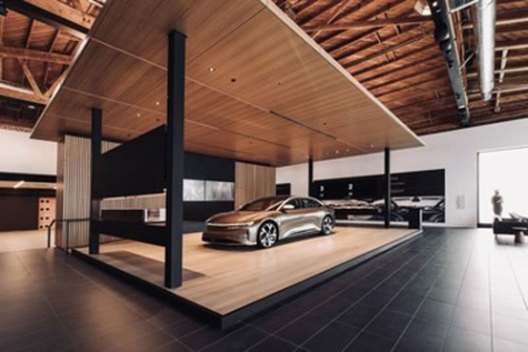 Lucid Motors Opens Studio & Service Center in Beverly Hills