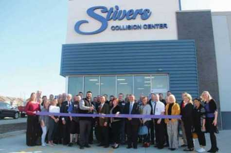 The Waukee Chamber of Commerce held a ribbon-cutting at the new Stivers Collision Center on March 26.