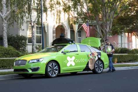 AutoX is launching a grocery delivery and mobile store pilot in San Jose, CA.