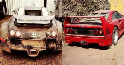 On the Lighter Side: 7 Super Expensive Cars That Were Abandoned