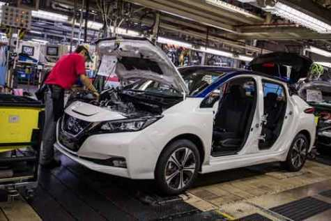 Nissan is cutting back on its production levels, including a 47% cut for the next three months.