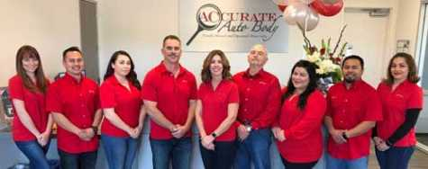 Tiffany Silva (center) is always looking to serve the collision repair industry by playing a wide range of leadership roles in the California Autobody Association while running Accurate Auto Body in Richmond, CA.