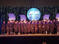 After completing their credit hours, individuals may participate in an AMi cap-and-gown graduation ceremony and are given a university-quality diploma.