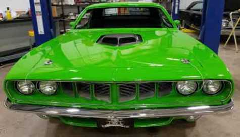 'Graveyard Carz' Reports Alleged Theft and Illegal Sale of SEMA 2016 Plymouth Barracuda