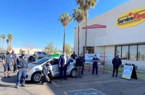 Service King Donates Car to Phoenix Resident Through NABC Recycled Rides Program