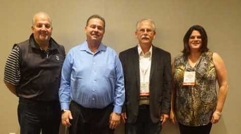 AASP National elected its new executive board during SEMA in Las Vegas (pictured left to right: Bill Adams, Bob Pulverenti, Tom Elder, Molly Brodeur).