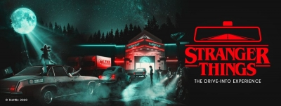 On the Lighter Side: 'Stranger Things' Drive-Into Experience Looks Hauntingly Amazing
