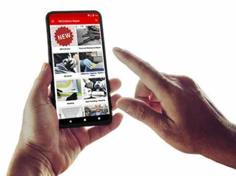 The new 3M Collision Repair App
