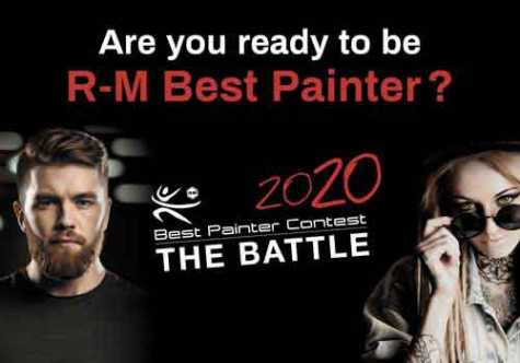 BASF Announces R-M Best Painter Contest 2020 North American Finals