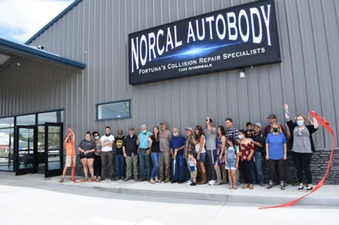 Norcal Autobody has a new Fortuna home, 1325 Riverwalk Drive, and a ribbon-cutting celebration was held Sept. 16.