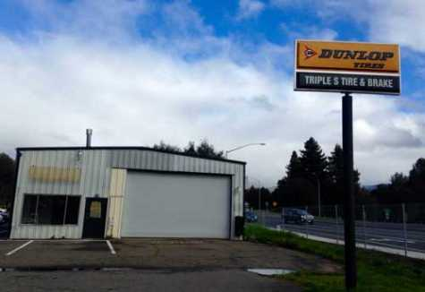 The city of Ukiah's Planning Department granted a permit for an auto body repair shop to open in an empty building on Talmage Road at Airport Park Boulevard.
