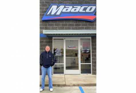 Long-Time Driven Brands Franchise Partner Opens New Maaco Location in Tupelo, MS