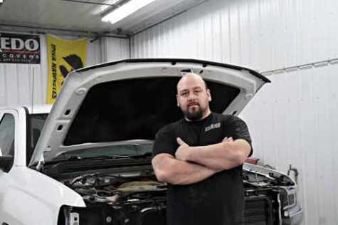 Adam Koster is the new owner of Paullina Body Shop. The 36-year-old Newell native earned a two-year auto body degree from Iowa Central Community College in 2012 and began working for the shop in Paullina in 2014.