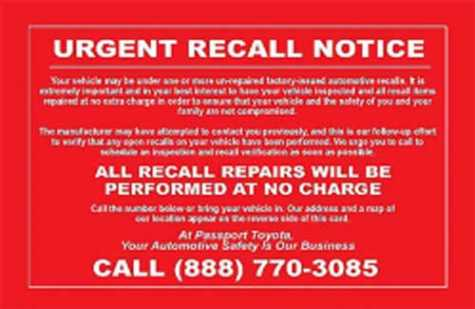 Fake Recall Notices Get Car Dealers in Trouble With FTC