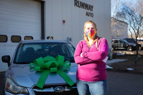 Runway Auto, GEICO Donate Refurbished Vehicle to VT Recipient